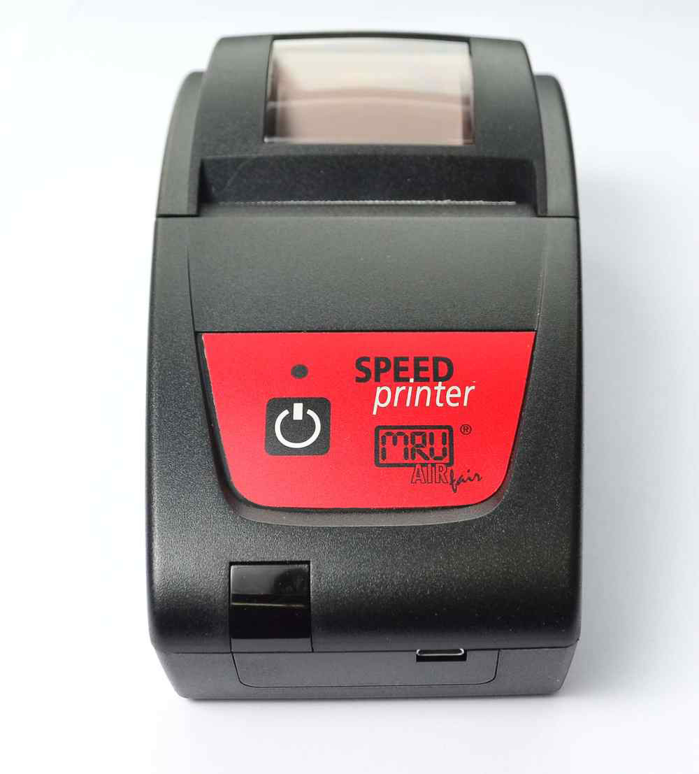 ИК Скоростной Термопринтер - Вид Спереди (mini USB)